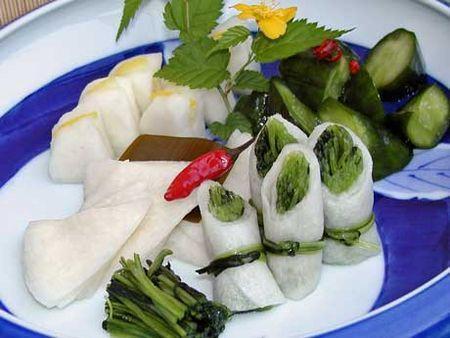 Món dưa muối truyền thống của người Nhật